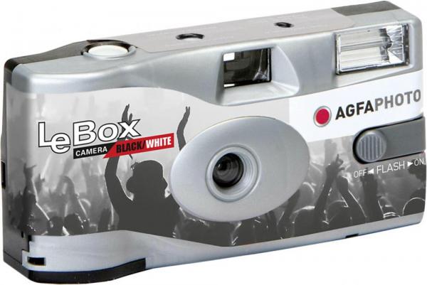 AgfaPhoto LeBox Aparat Foto Unica Folosinta Film Alb/Negru (36 pozitii)  ISO400 0