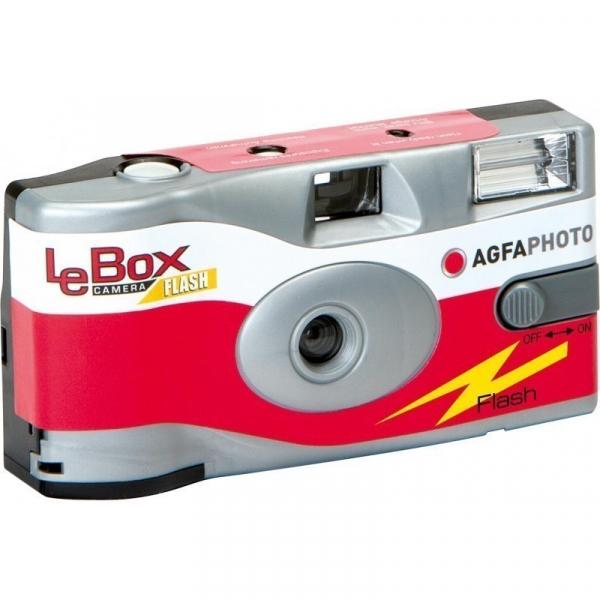 AgfaPhoto LeBox Flash Aparat Foto Unica Folosinta Film color 35mm (27 pozitii)  ISO400 0