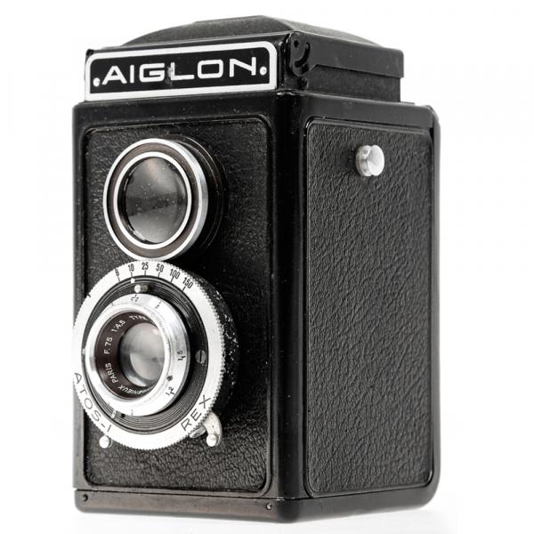 Aiglon Atos-I REX Anastigmat 1:6/75mm 2