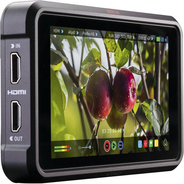 Atomos Ninja V Recorder Video 4K HDR 10bit - monitor video 5'' HDMI 0