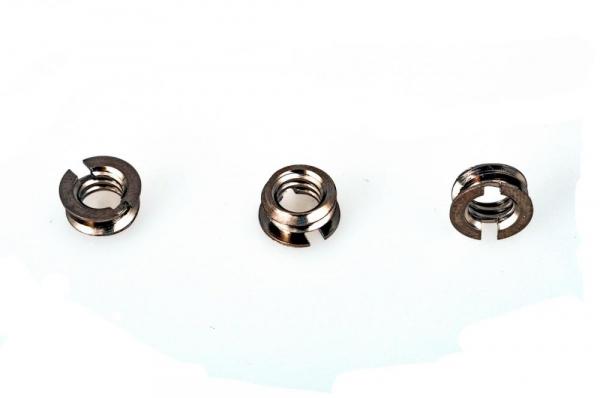 B.I.G. piulita adaptor 3/8 la 1/4 inches  de 5mm, crom 0