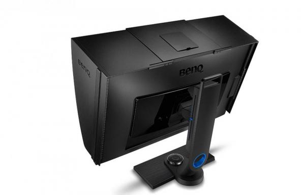 """BenQ SW2700PT -Monitor Pro Foto LED IPS 27"""", QHD, calibrare culoare Adobe RGB 5"""