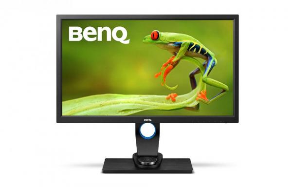 """BenQ SW2700PT -Monitor Pro Foto LED IPS 27"""", QHD, calibrare culoare Adobe RGB 3"""