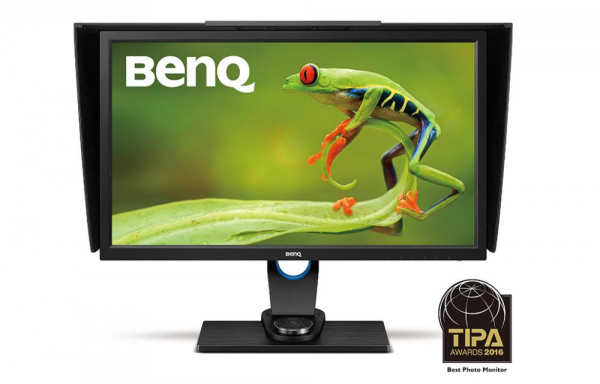 """BenQ SW2700PT -Monitor Pro Foto LED IPS 27"""", QHD, calibrare culoare Adobe RGB 0"""