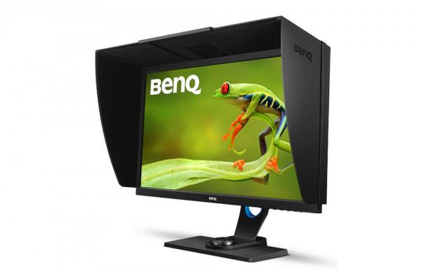 """BenQ SW2700PT -Monitor Pro Foto LED IPS 27"""", QHD, calibrare culoare Adobe RGB 1"""