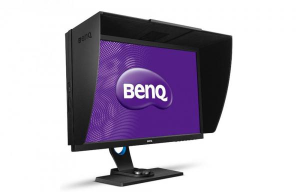 """BenQ SW2700PT -Monitor Pro Foto LED IPS 27"""", QHD, calibrare culoare Adobe RGB 2"""