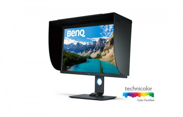 "BenQ SW320 -Monitor Pro Foto LED IPS 31,5"", UHD 4K, calibrare culoare Adobe RGB 0"