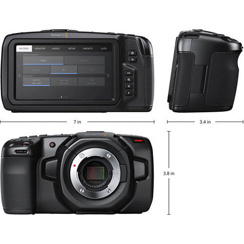 Blackmagic Design Pocket Cinema Camera 4K 3