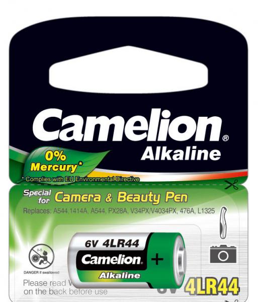 Camelion 4LR44 - baterie 6V 0