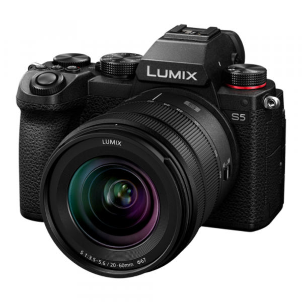 Camera foto mirrorless PANASONIC LUMIX S DC-S5K Kit cu Lumix S 20-60mm f/3.5-5.6 1