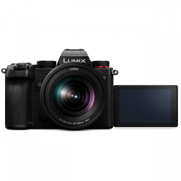 Camera foto mirrorless PANASONIC LUMIX S DC-S5K Kit cu Lumix S 20-60mm f/3.5-5.6 2