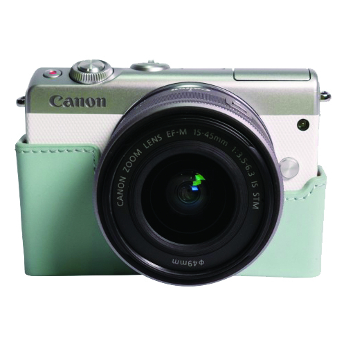 Canon CC-FJ001 - Husa din piele pentru Canon EOS M100, albastru 1