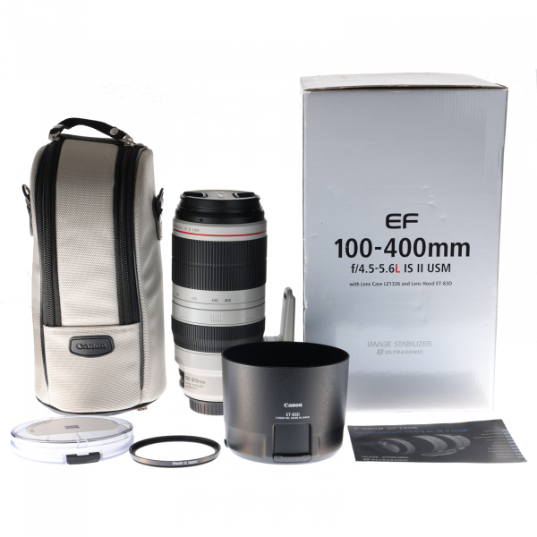 Canon EF 100-400mm f/4.5-5.6L IS II USM - Second Hand 8