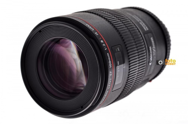 Canon EF 100mm f/2.8 L USM Macro IS (Inchiriere) 0