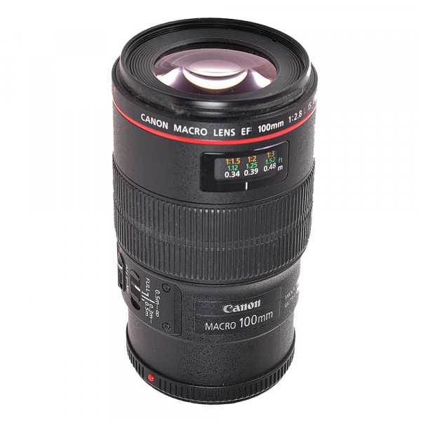 Canon EF 100mm f/2.8L Macro IS USM - (S.H.) 2
