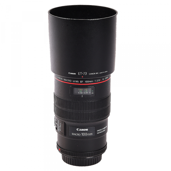 Canon EF 100mm f/2.8L Macro IS USM - (S.H.) 0