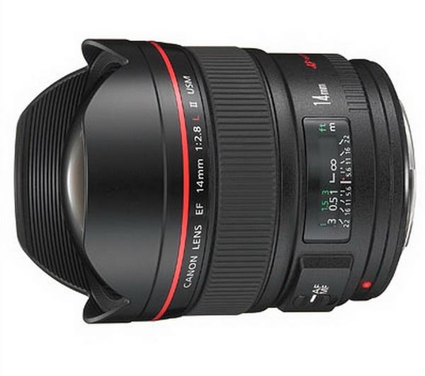 Canon EF 14mm f/2.8 L II USM (inchiriere) 1