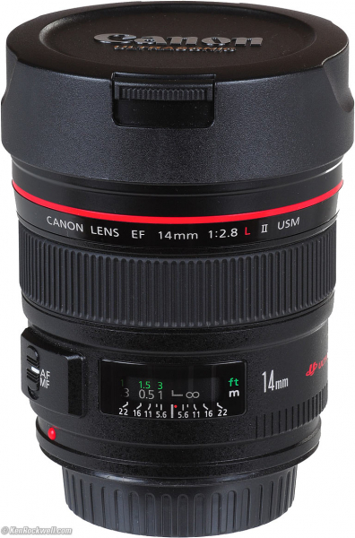 Canon EF 14mm f/2.8 L II USM (inchiriere) 0