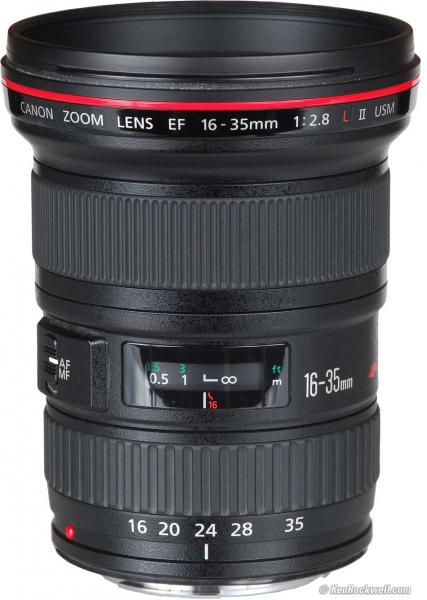 Canon EF 16-35mm f/2.8 II L USM (Inchiriere) 1