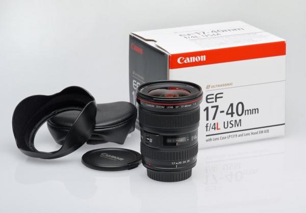 Canon EF 17-40mm f/4.0 L USM (inchiriere) 2