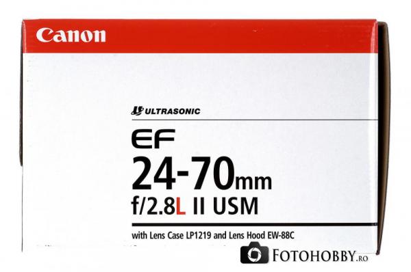 Canon EF 24-70mm f/2.8 L II USM (Inchiriere) 8