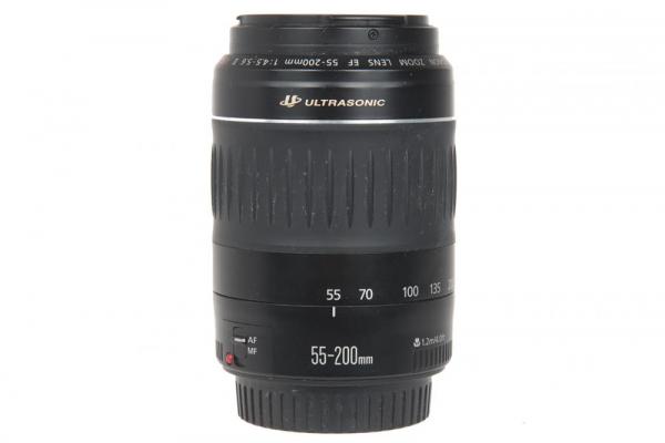 Canon EF 55-200mm f/4.5-5.6 II USM (S.H) 0