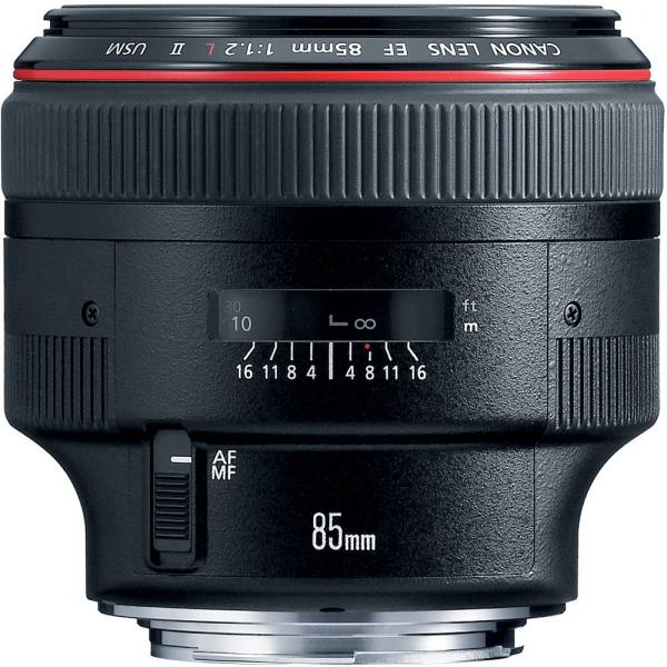 Canon EF 85mm f/1.2 L II USM 0