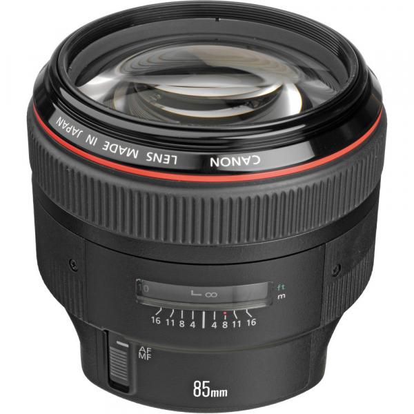 Canon EF 85mm f/1.2 L II USM 1