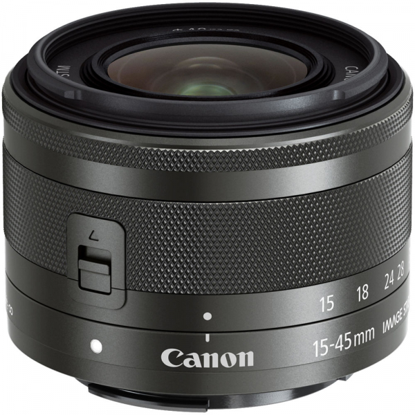 Canon EF-M 15-45mm f/3.5-6.3 IS STM , obiectiv Mirrorless  0