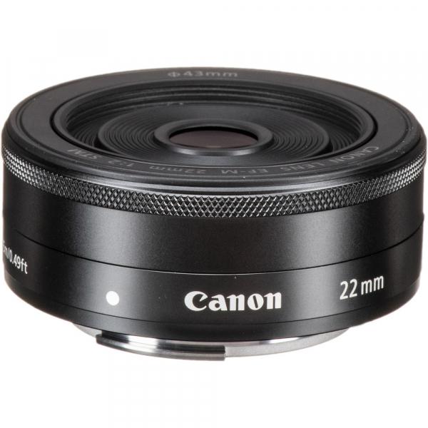 Canon EF-M 22mm f/2 STM , obiectiv Mirrorless 1