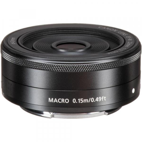 Canon EF-M 22mm f/2 STM , obiectiv Mirrorless 2