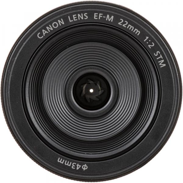 Canon EF-M 22mm f/2 STM , obiectiv Mirrorless 0