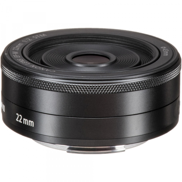 Canon EF-M 22mm f/2 STM , obiectiv Mirrorless 4