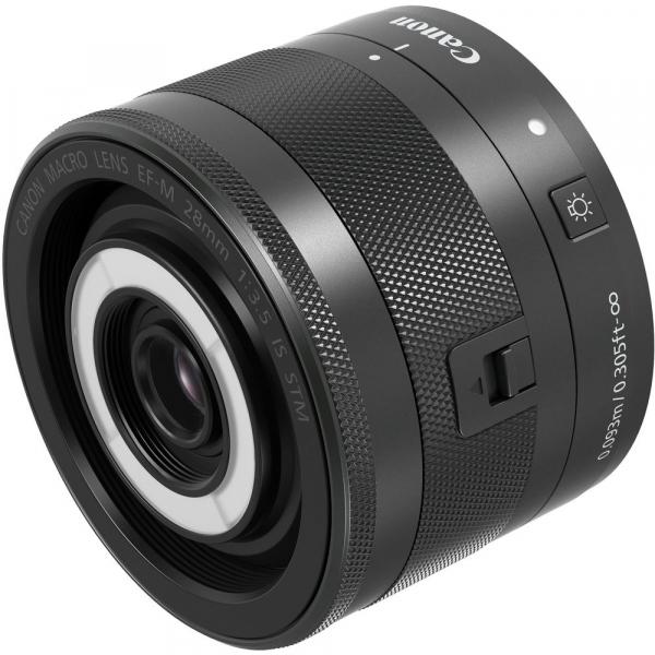 Canon EF-M 28mm f/3.5 Macro IS STM , obiectiv Mirrorless 2