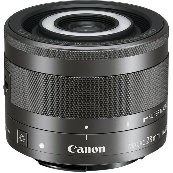 Canon EF-M 28mm f/3.5 Macro IS STM , obiectiv Mirrorless 0