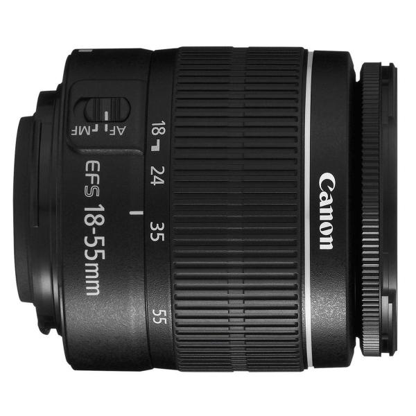 Canon EOS 250D negru + EF-S 18-55mm f/3.5-5.6 DC III 2