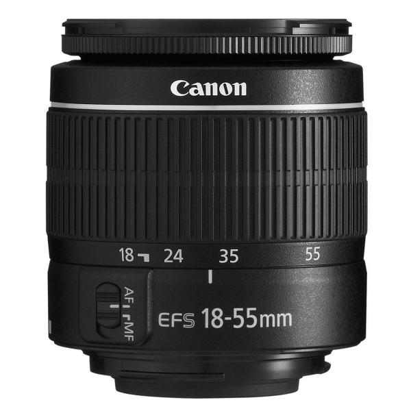 Canon EOS 250D negru + EF-S 18-55mm f/3.5-5.6 DC III 1
