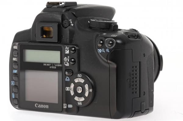 Canon EOS 350D + obiectiv Canon EF 35-80mm f/4-5.6  (S.H.) 3