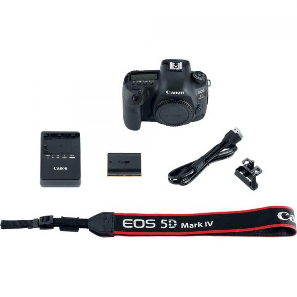 Canon EOS 5D Mark IV body - Full Frame, 30Mpx, Video 4K 6