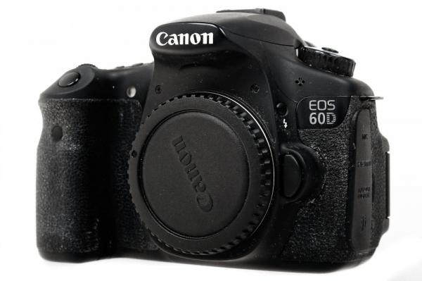 Canon EOS 60D, 18MP, Black Aparat foto DSLR ( Second Hand) 1