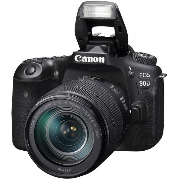 Canon EOS 90D kit + 18-135mm IS NANO USM 2