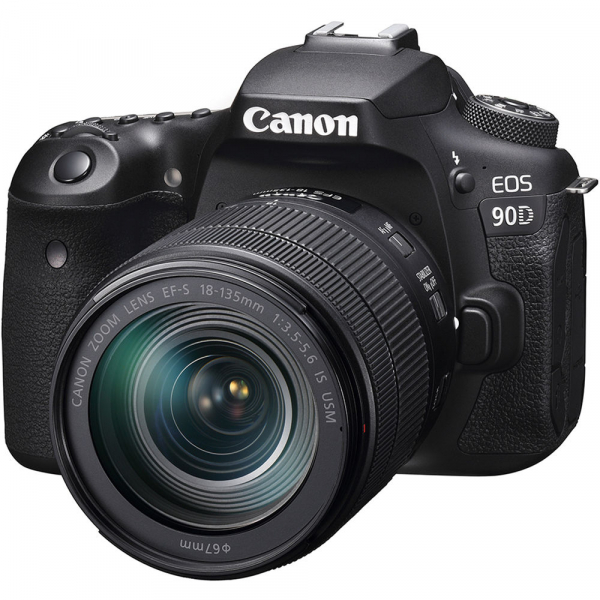 Canon EOS 90D kit + 18-135mm IS NANO USM 1