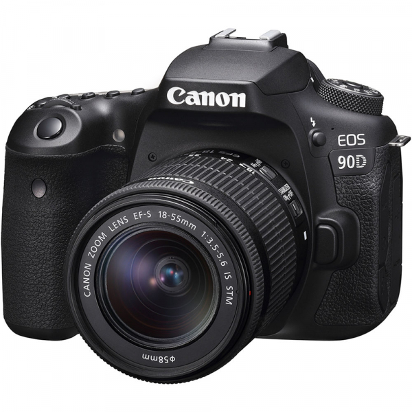 Canon EOS 90D kit + 18-55mm IS STM 0