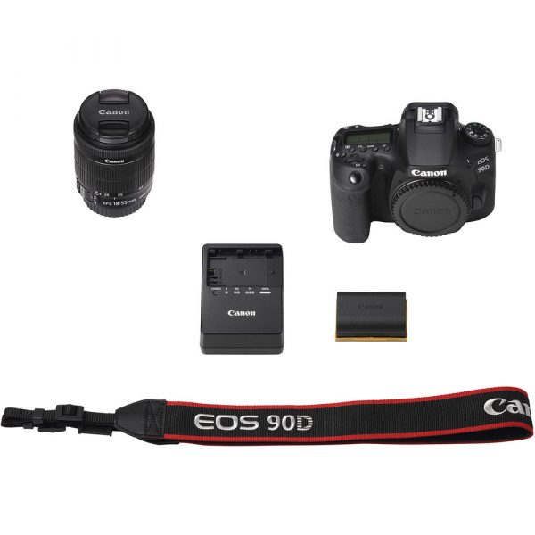 Canon EOS 90D kit + 18-55mm IS STM 6