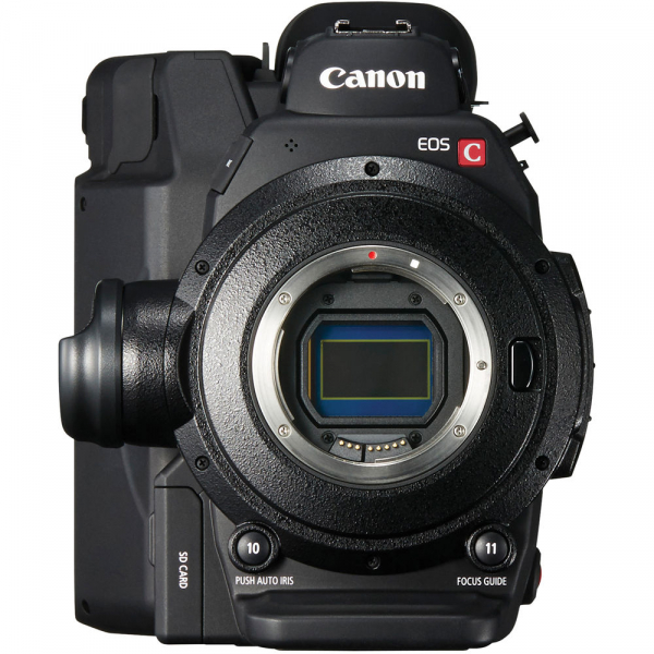 Canon EOS C300 Mark II - camera cinema 4K - montura Canon EF 1
