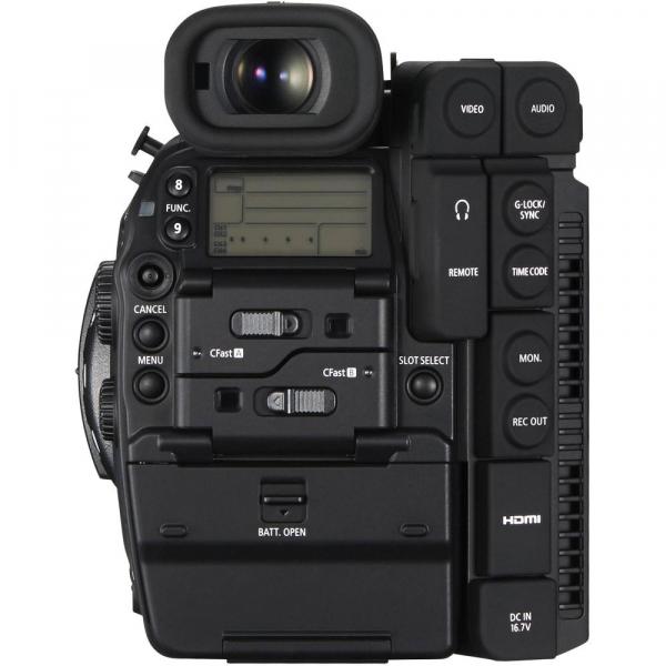 Canon EOS C300 Mark II - camera cinema 4K - montura Canon EF 4