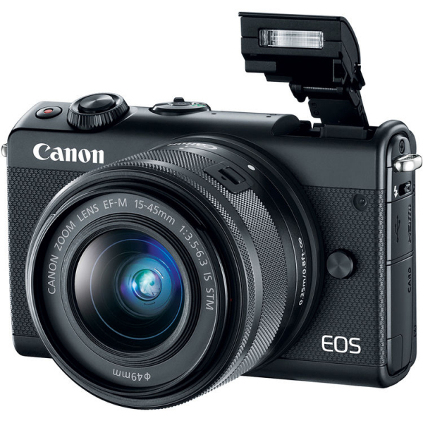 Canon EOS M100 Kit EF-M 15-45mm IS STM - negru  2