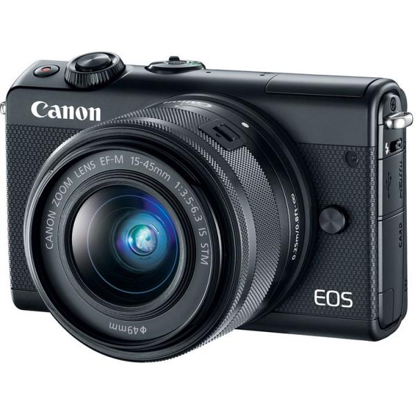 Canon EOS M100 Kit EF-M 15-45mm IS STM - negru  1