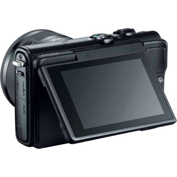 Canon EOS M100 Kit EF-M 15-45mm IS STM - negru  8