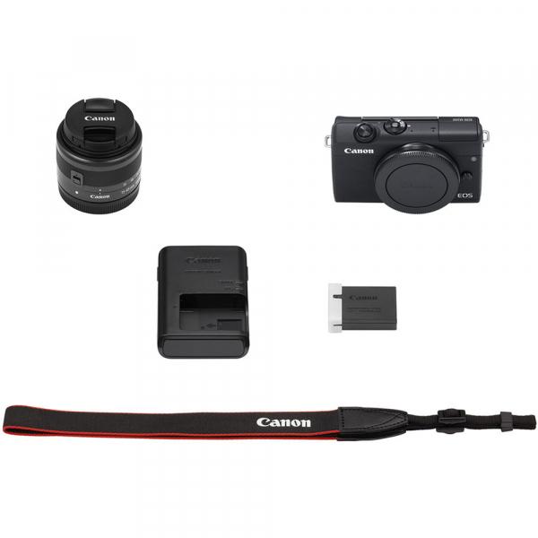 Canon EOS M200 Kit EF-M 15-45mm IS STM - negru 8